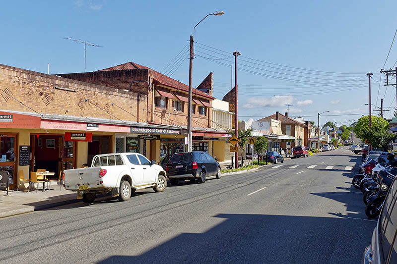 Barrington Town and Shops